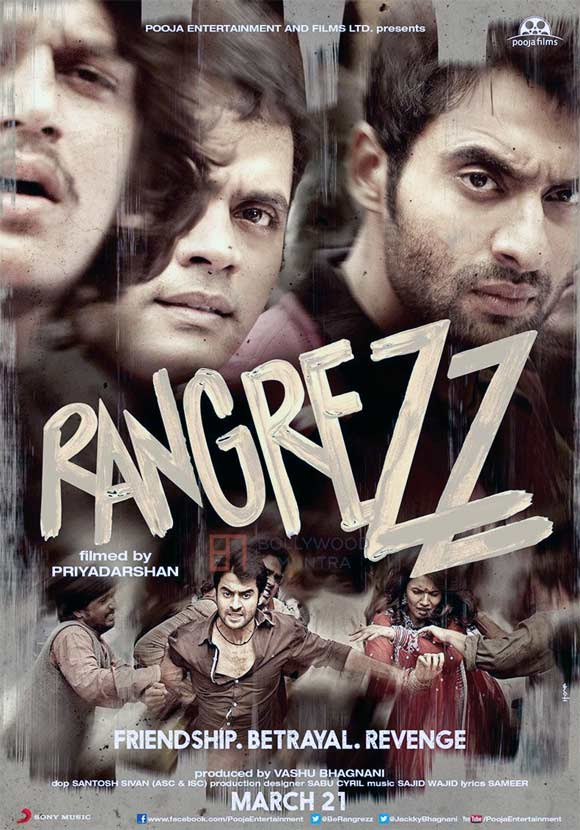 Movie poster of Rangrezz