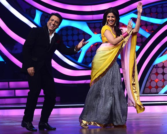 Govinda and Shilpa Shetty