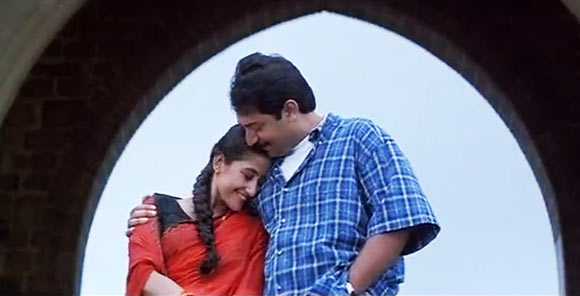 Manisha Koirala and Arvind Swamy in Bombay