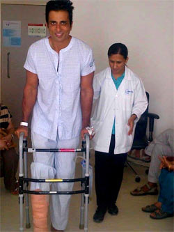 Sonu Sood in hospital