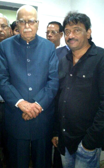L K Advani and Ram Gopal Varma
