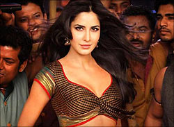 Katrina Kaif in the Chikni Chameli song in Agneepath