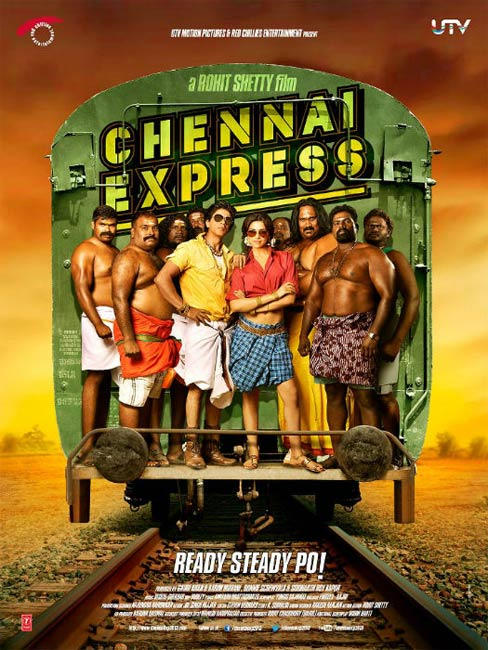 Movie poster of Chennai Express