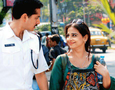 Parambrata Chatterjee and Vidya Balan in Kahaani
