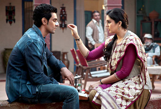 Kunal Kapoor and Huma Qureshi in Luv Shuv Tey Chicken Khurana