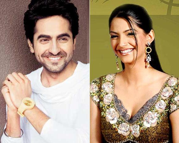 Ayushman Khurrana and Sonam Kapoor