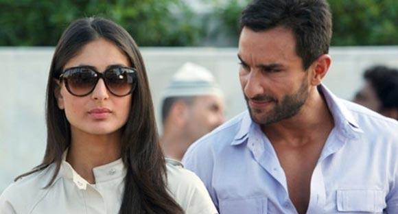 Kareena Kapoor and Saif Ali Khan in Raabta, Agent Vinod