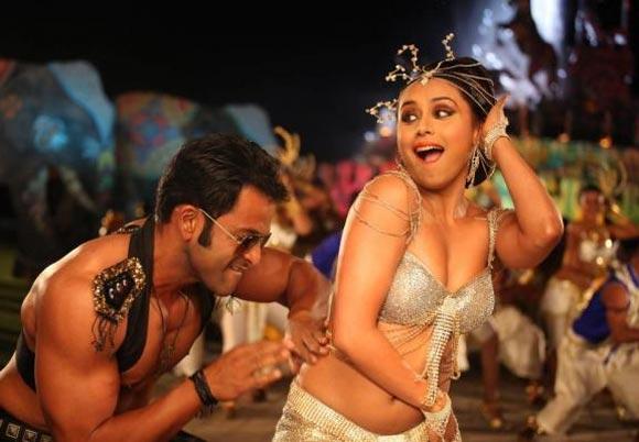 Prithviraj and Rani Mukerji in Dreamum Wakeupum, Aiyyaa
