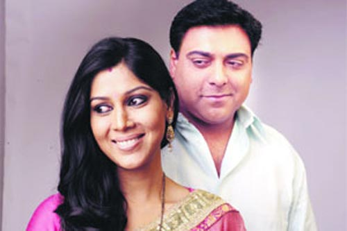 Saakshi Tanwar and Ram Kapoor in Bade Achhe Lagte Hain