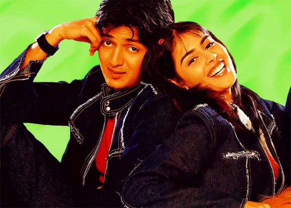 Ritesh Deshmukh and Genelia D'Souza In Tujhe Meri Kasam