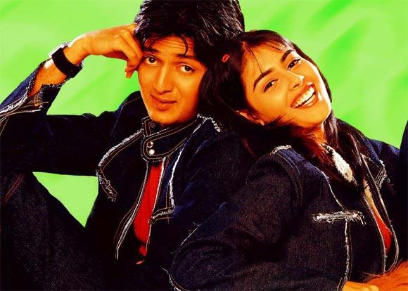 Ritesh Deshmukh and Genelia D'Souza In Tujhe Meri Kasam