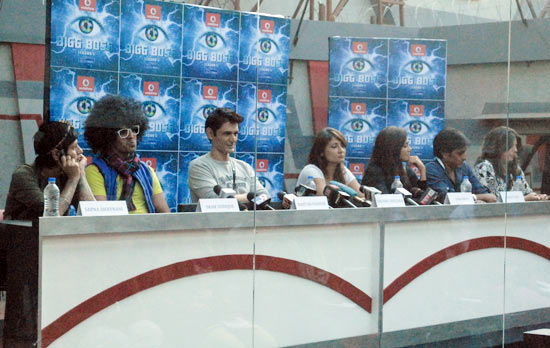 The Bigg Boss 6 finalists
