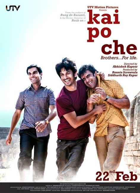Movie poster of Kai Po Che