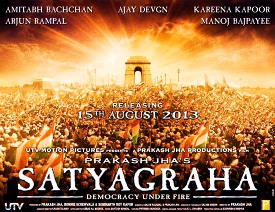 Movie poster of Satyagraha