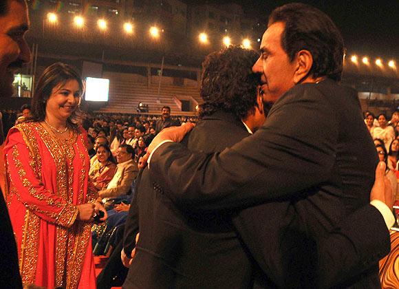 Sachin and Priya Tendulkar