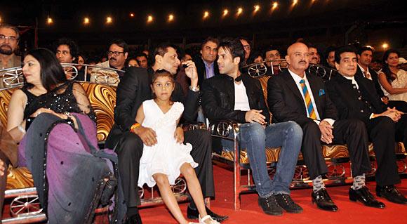 Kiran Juneja, Madhur Bhandrakr, Tushhar Kapoor, Rakesh Roshan and Jeetendra
