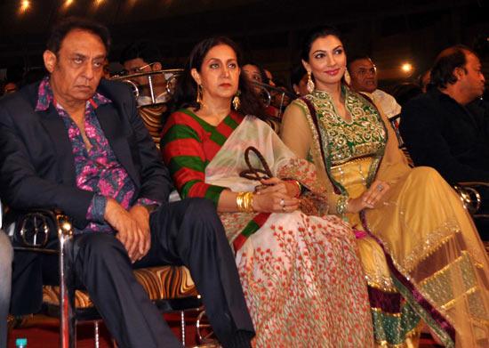 Ranjeet, Naazneen and Yukta Mookhey