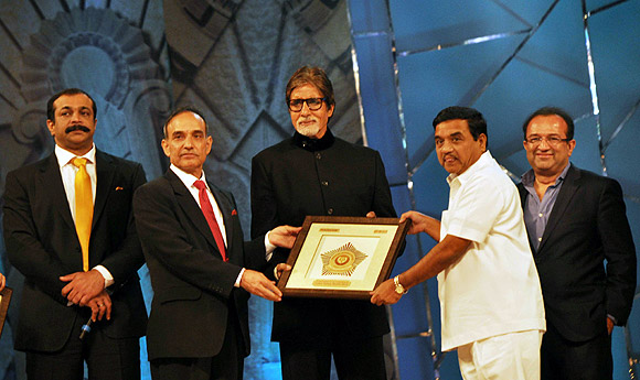 Satyapal Singh, Amitabh Bachchan and RR Patil