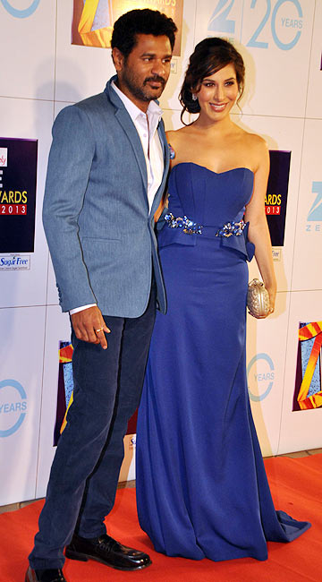 Prabhu Deva and Sophie Chaudhry
