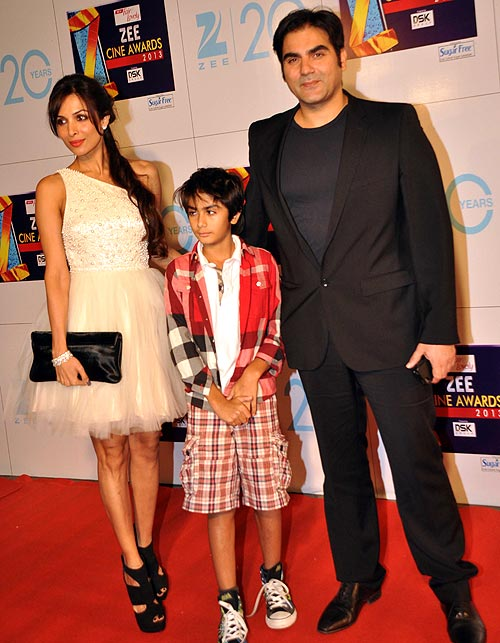 Malaika Arora Khan, Arhaan and Arbaaz Khan