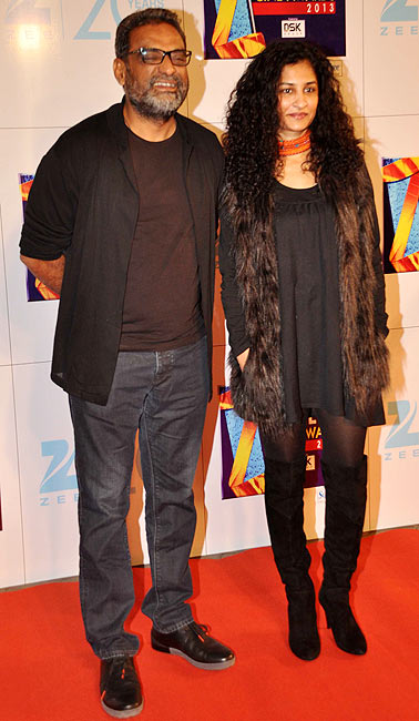 R Balki and Gauri Shinde