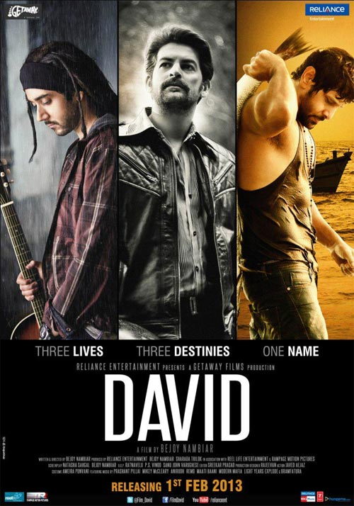 Movie poster of David