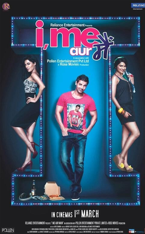 Movie poster of  I, Me Aur Main