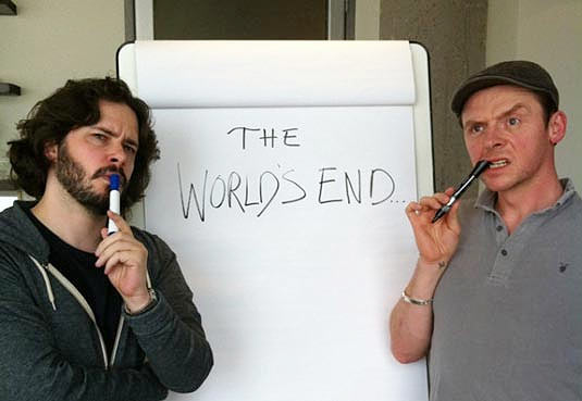 A scene from The World's End