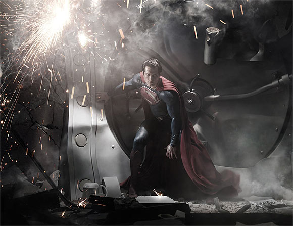 A scene from Man Of Steel