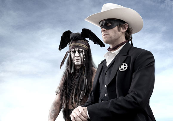 A scene from The Lone Ranger