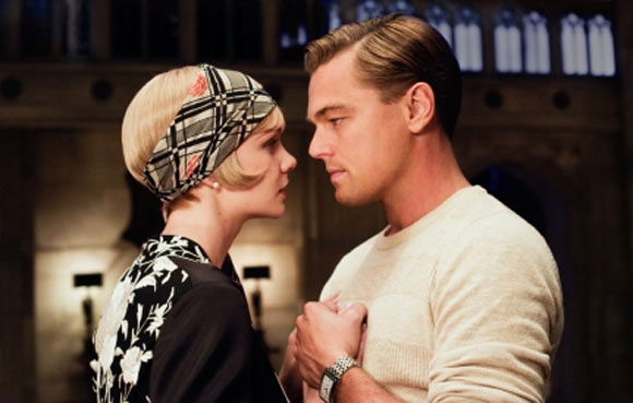 A scene from The Great Gatsby