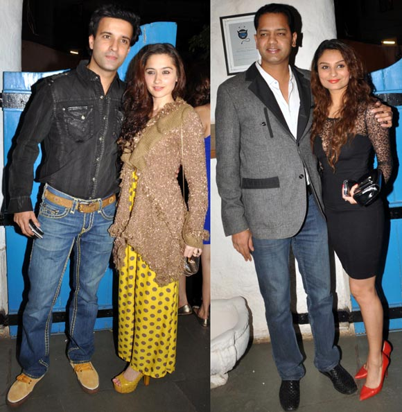 Aamir Ali, Sanjeeda Sheikh and Rahul, Dimpy Mahajan