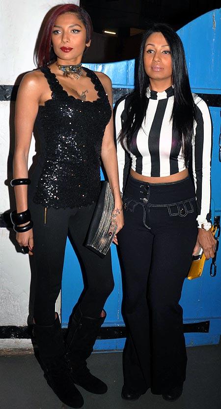 Diandra Soares and Kashmera Shah
