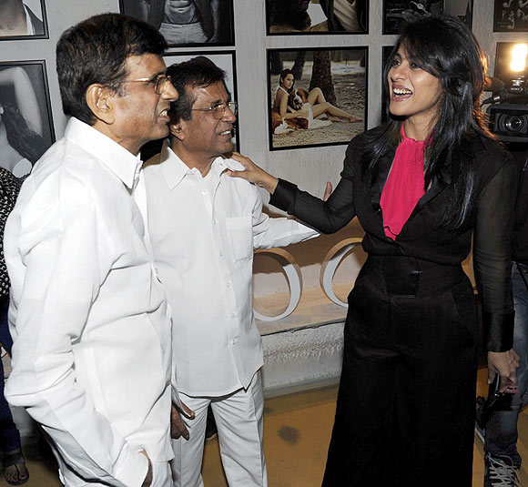 Abbas-Mustan and Kajol