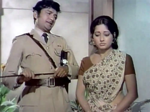 Ramesh Deo and Meena T in Resham Ki Dori