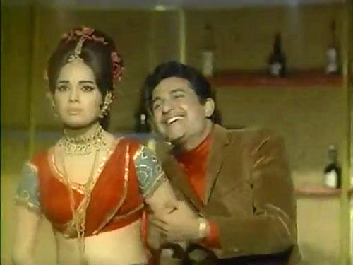Ramesh Deo and Mumtaz in Khilona