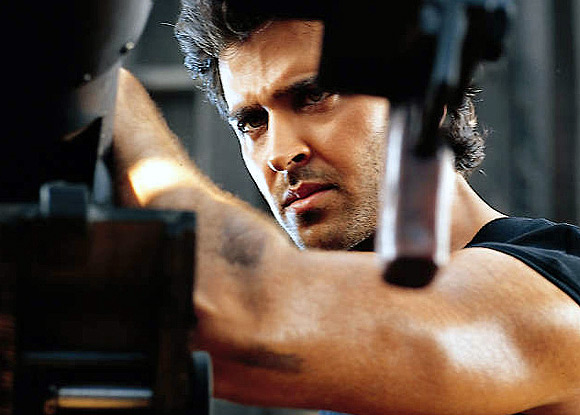 Hrithik Roshan in Mission Kashmir