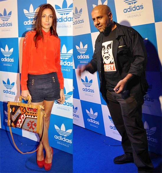 Monica Dogra and Vishal Dadlani