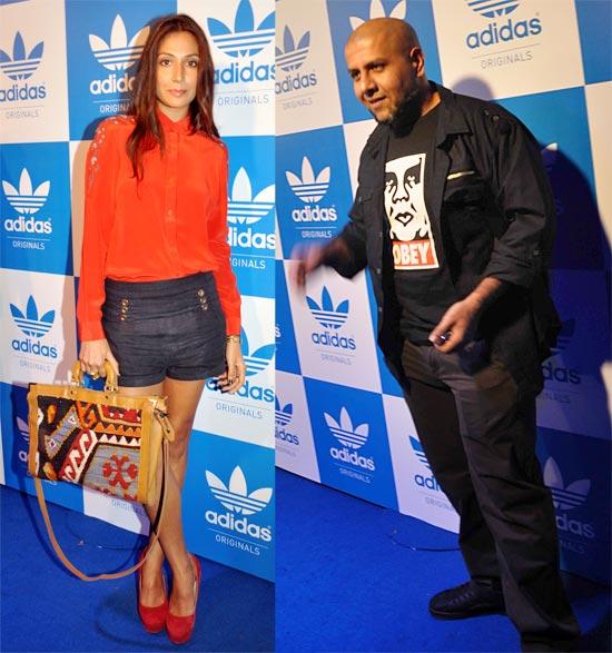 Monica Dogra and Vishal Dadlani