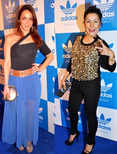 Nauheed Cyrusi and Hard Kaur