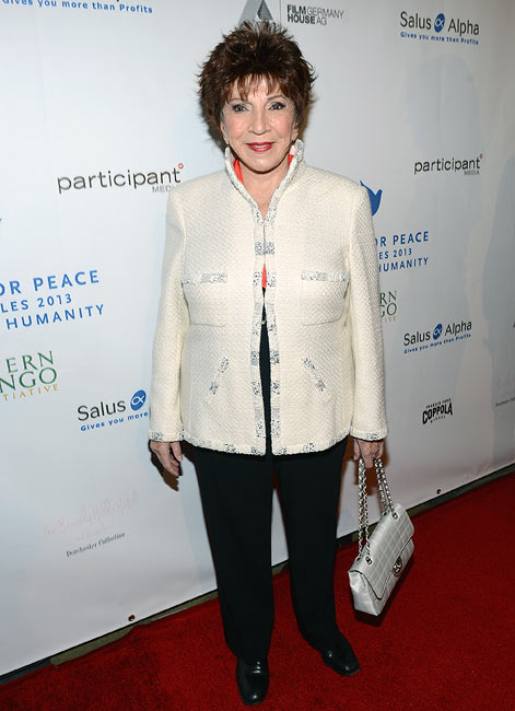 Dr Aida Takla O'Reilly at Cinema For Peace 2013 Gala For Humanity