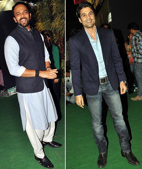 Rohit Shetty and Rajeev Khandelwal