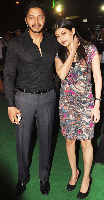 Shreyas and Deepti Talpade