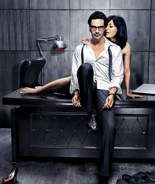 Arjun Rampal and Chitrangdha Singh in Inkaar
