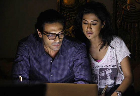 Arjun Rampal and Chitrangada Singh in Inkaar