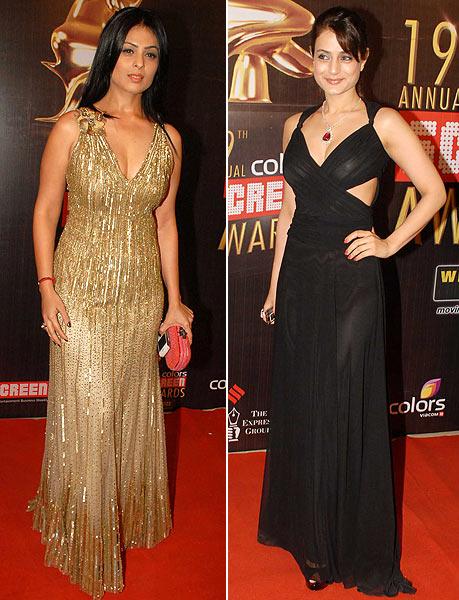 Anjana Sukhani and Ameesha Patel