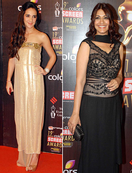 Tara Sharma and Sonali Bendre