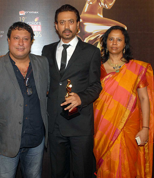 Tigmanshu Dhulia, Irrfan and his wife Sutapa Sikdar