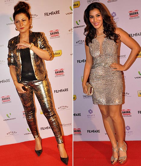 Hard Kaur and Sophie Choudry