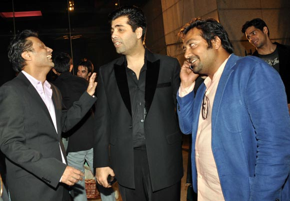 Sujoy Ghosh, Karan Johar and Anurag Kashyap